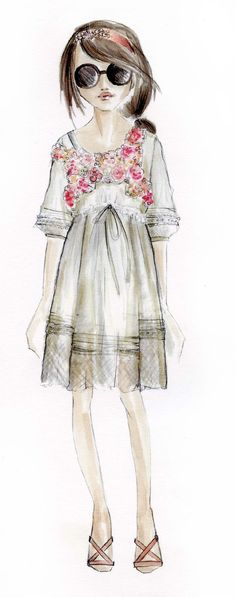 Children's fashion by Elsy at Pitti Bimbo 71 for summer 2011