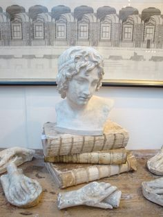 19th c Plaster Bust of a young Alexander  www.appleyhoare.com