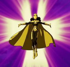 """tumblr_mdenowqF2A1rkz9b7o1_r1_500.gif (500×481)Zatanna as Dr. Fate in the Young Justice episode """"Misplaced""""."""