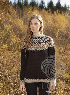 Ravelry: Afmæli - Anniversary Sweater pattern by Védís Jónsdóttir Fair Isle Knitting Patterns, Jumper Patterns, Knit Patterns, 20 Year Anniversary, Icelandic Sweaters, Baby Cocoon, Pullover, Knitwear, Knit Crochet