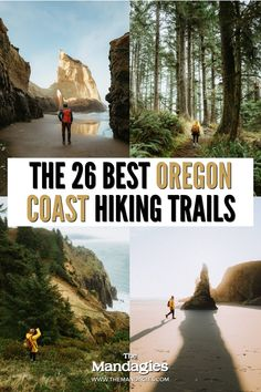 Looking for some incredible Oregon coast hiking trails to take on your next vacation to the Oregon Coast? From popular places like Cannon Beach and Samuel H Boardman, we're sharing the best hiking trails in Oregon to fil up your itinerary with adventure! #oregon #oregoncoast #hikes #hikingtrails #PNW #pacificnorthwest