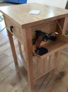Another Way To Hide Gun In Nightstand