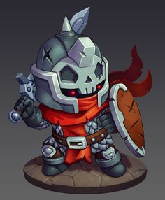 mini chibi character | NOT OUR ART - Please click artwork for source | WRITING INSPIRATION for Dungeons and Dragons DND Pathfinder PFRPG Warhammer 40k Star Wars Shadowrun Call of Cthulhu and other d20 roleplaying fantasy science fiction scifi horror location equipment monster character game design | Create your own RPG Books w/ www.rpgbard.com