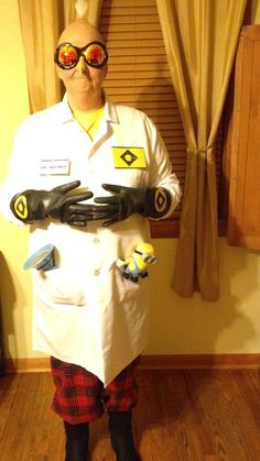 Despicable Me Costume- Dr Nefario 2013