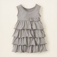 baby girl - tiered knit dress | Children's Clothing | Kids Clothes | The Children's Place