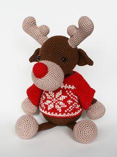 Ravelry: Rolf the reindeer pattern by Christel Krukkert