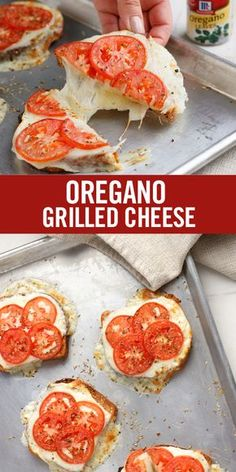 Start with pure flavor: The traditional grilled cheese sandwich gets a fresh flavor twist from oregano, a robust herb with a peppery bite and a sweet, almost minty aroma. Serve this easy sheet pan recipe as a light lunch or quick afternoon snack.