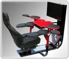 En trend bilgisayar masası