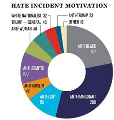 Data Dive: U.S. hate incidents rise sharply after Trump win: civil rights group | Reuters