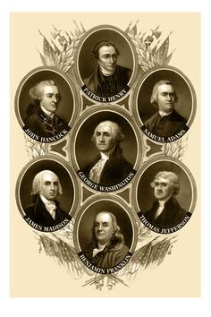 The Founding Fathers.... They would really be ashamed at the place we are at right now.