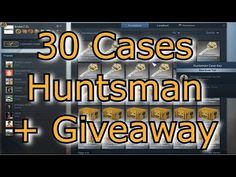 CS GO - E83 Opening Huntsman Boxes Weapon Cases + Giveaway