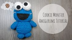 Amigurumi Cookie Monster Tutorial