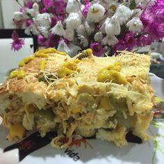 Receita de Torta de frango de liquidificador deliciosa e fácil. Enviada por sergio e demora apenas 40 minutos.