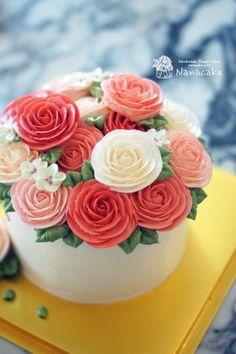 시댁 어머님 생신날 흔하지 않은 아주 특별한 선물_부산플라워케이크 by.나나 : 네이버 블로그