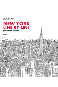 $17 New York Line by Line - Architectural History of NYC - On Jack Threads: http://www.jackthreads.com/invite/tobytoby7