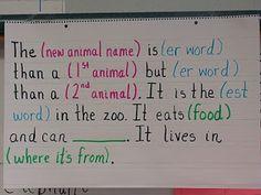 If I ran the zoo we love mad libs :)