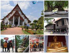 Ayutthaya - Thailanda House Styles, Places, Decor, Decoration, Decorating, Lugares, Deco