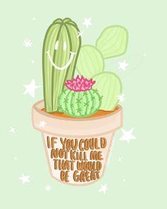 "GABI   DOODLE GEMS 🏳️🌈 on Instagram: ""What I think my plants are saying to me every time I buy a new one 😂🌵  #plantmom #plantmomlife #plantart #cactusart #cactus #procreateart…"""