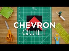 Make an Easy Chevron Block - Quilt Snips (Missouri Star Quilt Company - YouTube)
