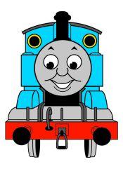 the gallery for  gt  thomas train clipart thomas the train clip art characters thomas the train clip art black & white