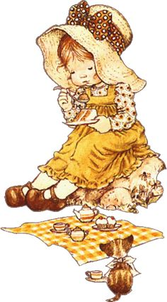gifs et tubes sarah kay - Page 3 Sarah Key, Holly Hobbie, Cute Images, Cute Pictures, Comic Pictures, Hobby Horse, Australian Artists, Digi Stamps, Cute Illustration