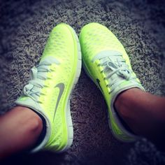 Neon nikes I have shoes similar to these.