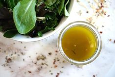Homemade lemon shallot salad dressing is a healthy, sugar-free dressing option. Sugar Free Salad Dressing, Salad Dressing Recipes, Lemon Salad Dressings, Roasted Tomatillo, Grilling Gifts, Healthy Sugar, How To Squeeze Lemons, Healthy Salads, Favorite Recipes