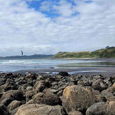 Ngarunui Beach // Raglan  #wanderlust #nzadventures #discovernz