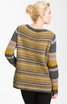 Elizabeth and James Slouchy Stripe Sweater | Nordstrom