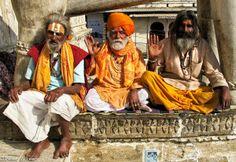 Sadhus in Varanasi, India.  Photo by TG member, Mac