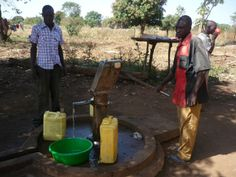 This is the borehole (water well) that supplies water for Keframa College Water Well, Closer, College, School, Kids, Young Children, University, Boys, Fountain