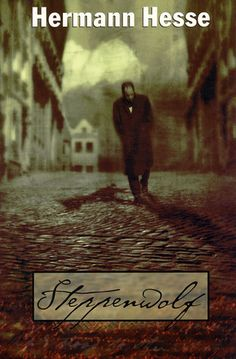 Steppenwolf - Hermann Hesse. A lonely man observing lives from the steps of his building, like a wolf on the prowl.....