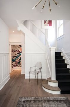 Regal Heights - contemporary - staircase - toronto - Shirley Meisels