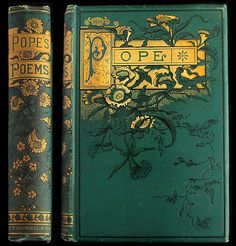 1888 ALEXANDER POPE POEMS RARE ILLUSTRATED VICTORIAN FINE BINDING ENGRAVINGS