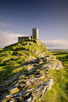 Brentor church near to Dartmoor & Tavistock - West Devon Mining Landscape (UNESCO World Heritage Site)