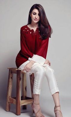 Pakistani outfit by Natasha Kamal.