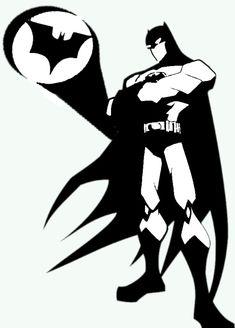 Batman Stencil by mehim.deviantart.com