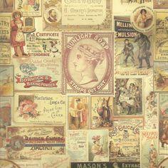 Papel decorativo vintage   Ref. 0475 - Mi Mundo en Papel