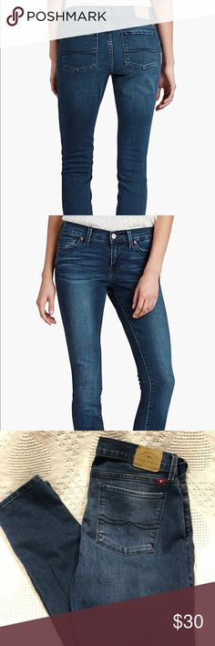 Lucky Brand Brooklyn Skinny Jeans Brooklyn Skinny, dark washed, Like new condition Lucky Brand Jeans Skinny