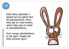 Småproblemer9 Fourth Grade, Runes, Education, Maths, School Ideas, Easter, Children, Toddlers, Boys