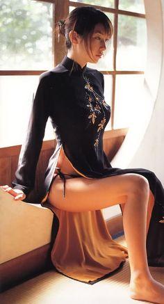 Nude Brunette Panties