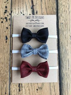 A personal favorite from my Etsy shop https://www.etsy.com/ca/listing/569079689/2-burlap-mini-bows