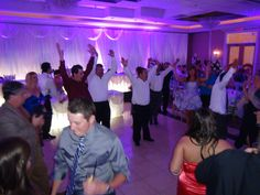 Gangnam Style! A Chicago Wedding DJ from Fourth Estate Audio got this crowd rocking! Click us at www.discjockey.org.