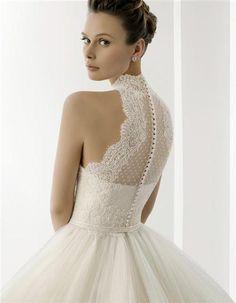Robe de mariée ANTALIS par Rosa Clara et son voile d'occasion