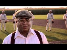 James Earl Jones and Kevin Costner: two of my favorite voices! One of the best scenes from Field of Dreams.