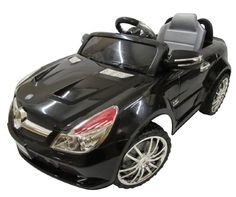 Your kids will love this LICENSED Mercedes Benz SL-65. Definitely an eye catcher! With an elegant design, lovely finish, and amazing features will make you the envy of your neighborhood. This cool power wheel operates on a 12-volt battery cruising at a speed of 3 - 4 mph. The perfect and unique gift for your loved ones!