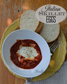 Italian Skillet Eggs