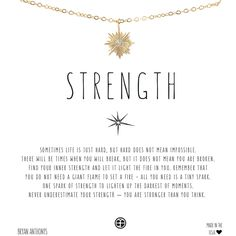 Wear Bryan Anthonys Dainty Strength Starburst necklace as a reminder that you can set a vast fire from one tiny spark. Dainty Necklace, Simple Necklace, Simple Jewelry, Cute Jewelry, Jewelry Necklaces, Jewellery, Charm Bracelets, Boho Jewelry, Bryan Anthony