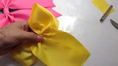 Diy Hair Bows, Diy Hairstyles, Tableware, Youtube, Craft, Xmas, Pink, Vestidos, Sewing Patterns Baby