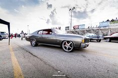 72 chevelle #BecauseSS grey silver red interior forgiato wheels. not the sandman ivy 70 chevelle